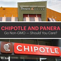 Chipotle and Panera Go Non-GMO