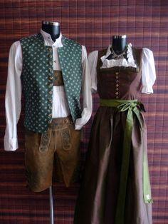 Gilet Fiori grün - Westen - Herren - Country Hotel Kleidung - Dirndl - Trachtenmode - Landhausmode und mehr