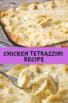 Light and delicious Tetrazzini cheese plate – Chicken and pasta in a creamy sauce with lots of flavor. It's a family-favorite dinner party and one that gets wild ratings! Chicken Tetrazzini Recipes, Chicken Spaghetti Recipes, Easy Chicken Recipes, Easy Dinner Recipes, Easy Meals, Recipe Chicken, Chicken Spaghetti Casserole, Cheesy Spaghetti, Shredded Chicken Recipes