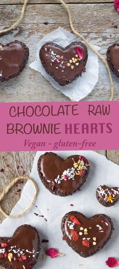 A sinfully raw chocolate brownie that is gluten-free, vegan and only takes 10 minutes to make!