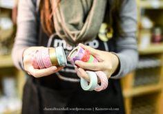 Washi tape galore at KAMERS 2014 Trading at the Castle - www.kamersvol.com - by Chantall Marshall Photography - www.chantallmarshall.wordpress.com