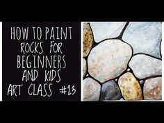 A tutorial showing how to use watercolor paints to create rocks and pebbles.just a pencils and some watercolours. Kids Watercolor, Watercolour Painting, Kids Art Class, Art For Kids, Beginner Art, Rock And Pebbles, Watercolor Techniques, Watercolours, Painted Rocks