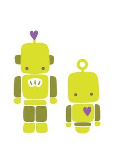 cute robots makes me think of Frances <3