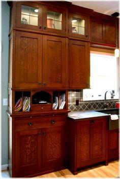 mission style kitchen cabinets quarter sawn oak | home design
