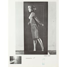 """Michael Snow used a variety of forms for his Walking Woman. Here the shape is made by Carla Bley who was a fellow musician, an American jazz composer, and a performer. """"Carla Bley,"""" Art Gallery of Ontario. Jazz Composers, Art Gallery Of Ontario, Canada, Canadian Art, Online Art, Book Art, Concrete, Contemporary Art, Auction"""