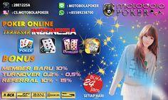 Main Judi Capsa Susun Indonesia - MOTOBOLAPOKER merupakan salah satu Situs Agen Judi Capsa Susun On-line Terpercaya uang asli indonesia, Agen Judi Capsun Online