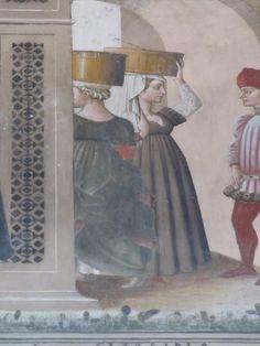 Medieval Fashion, 15th Century, Italian Fashion, Renaissance, Portraits, Italy, Wedding, Painting, Inspiration