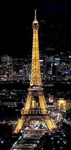 The Eiffel Tower...This is Paris!