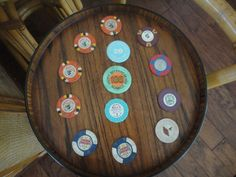 Vintage Casino Clay Gambling chips by MilliesAttique on Etsy
