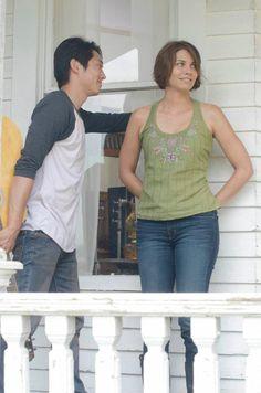 The Walking Dead ... Glenn and Maggie