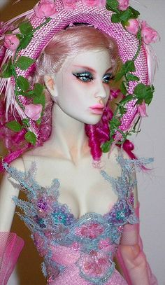 Sybarite, Paris Doll festival 2013 OOAK from Superfrock by falconheri, via Flickr