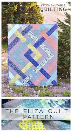The Eliza Quilt Pattern - Kitchen Table Quilting