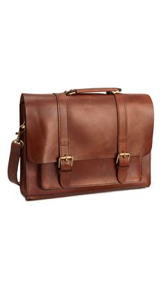 Timeless brown leather