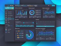 Dashboard Examples, Data Dashboard, Dashboard Interface, Dashboard Design, App Ui Design, User Interface Design, Ui Design Mobile, Graphic Design Brochure, Minimal Web Design