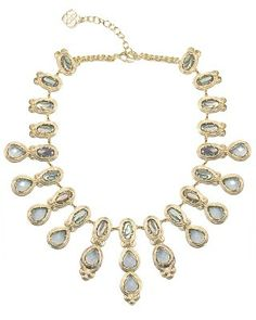 Whitney Statement Necklace in Abalone Gypsy - Kendra Scott Jewelry. Coming soon!