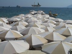 Beach Umbrellas.  #canneslions