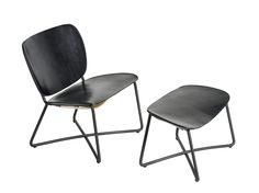 Miller Lounge chair + Ottoman. Design: Serener http://functionals.eu/products/seats/miller
