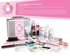 Bride's Wedding Day Survival Kit