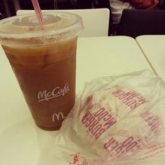 McCafe and Burger. Had them at 3am after a wild party.