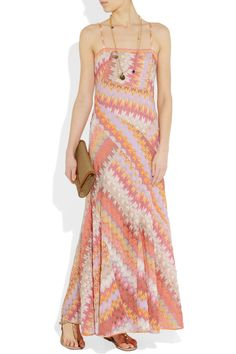 Missoniknit maxi. Fresh shipment of Missoni knits are on their way to Mood's NYC store.