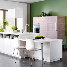Decorating with Green | Bold Colour Kitchens | Modern Kitchen Designs | Decorating Ideas | Interiors | Red Online