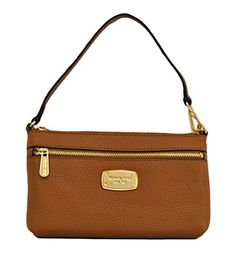 Women's Wristlet Handbags - Michael Kors Jet Set Item Large Wristlet Wallet Acorn * Be sure to check out this awesome product.