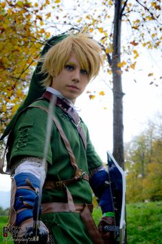 Cosplayer: Jacopo As Link From Legend Of Zelda Location: ~Lucca Comics And  Games   Saturday, November The 2012   Lucca, Italy~