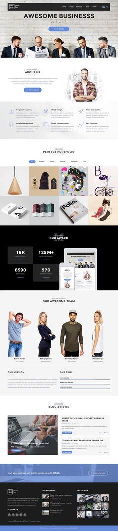 Mono is creative responsive premium WordPress #Theme for multipurpose #website. #business Download Now!