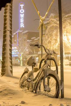 Winter in Bend.Oregon