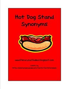 107 best vocab synonyms antonyms images on pinterest english hot dog stand synonyms game stopboris Gallery