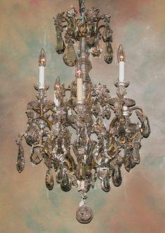 Louis XV Chandelier w/Baccarat crystals