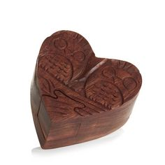 Serrv Love Owls Puzzle Box Who Created You, Puzzle Box, Romantic Gifts, Meaningful Gifts, Handicraft, Hand Carved, Stuff To Do, Unique Gifts, Owls
