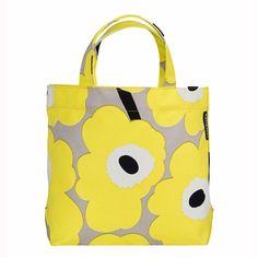 d48a2f2544 Marimekko Unikko Veronika Yellow Handbag - Click to enlarge Yellow Handbag