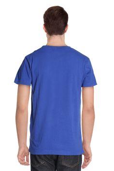 Vente Rivaldi   12648   Homme   T-Shirts   T-Shirt Bleu Roi 87220e39ba2