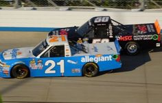 GMS Racing Fastest in Both NCWTS Practices in Las Vegas