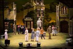 The Music Man. Guthrie Theatre. Scenic design by Todd Rosenthal.