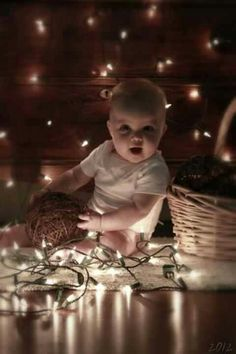 Baby Christmas photos