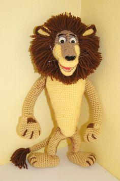 Leone Alex(crochet, hero of *Madagascar*