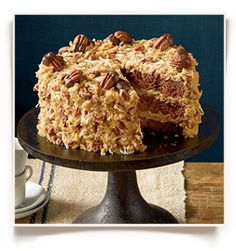 German Chocolate Cheesecake Southern Living