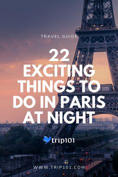 Things to do in Paris at Night? Nights in Paris are just as stellar as its days! Here are 22 awesome activities for an unforgettable night out in the City of Light and Love. Paris At Night, Night City, Ireland Vacation, Ireland Travel, Paris Eiffel Tower, Eiffel Towers, Paris France Travel, Romantic Paris, Montmartre Paris