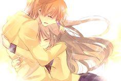 Otanashi and Kanade from Angel Beats ~ 