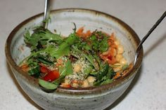 vegan recipes for interstitial cystitis: salad dressing without vinegar