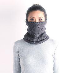 Cable knit cowl knit cowl neckwarmer knit neckwarmer by VONANA