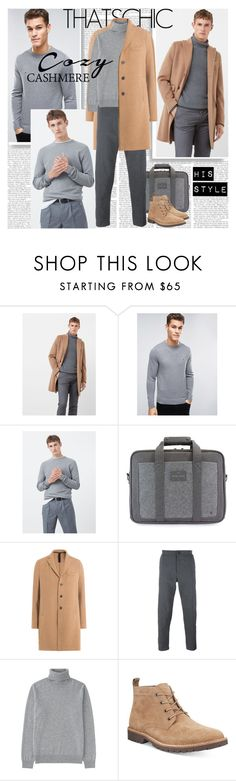 """""""Cozy Cashmere His Style"""" by stylepersonal ❤ liked on Polyvore featuring MANGO, Tommy Hilfiger, Peter Werth, Harris Wharf London, Paolo Pecora, Uniqlo, Kenneth Cole, men's fashion, menswear and MensFashion"""