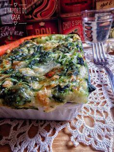 Oggi voglio proporti le lasagne con spinaci e prosciutto cotto, primo piatto delizioso e delicato che mette d'accordo tutta la famiglia Allora. cosa stai aspettando? Segui in cucina I Sapori di Casa