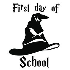 First day of school Pre-K svg Pre-k dude svg Back to School Harry Potter Decal, Harry Potter Sorting, Harry Potter World, Silhouette Cameo Projects, Silhouette Design, Silhouette Vinyl, Circuit Projects, Vinyl Projects, Disney Fantasy