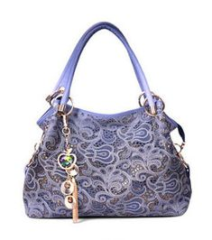 Large Leather Tote Bag, Leather Hobo Handbags, Leather Purses, Large Tote, Pu Leather, Vintage Leather, New Blue, Fashion Handbags, Fashion Bags