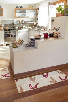This is a perfect way to get this into the community kitchen, especially the canning area. Home Decor Kitchen, Rustic Kitchen, Kitchen Interior, Home Kitchens, Kitchen Dining, Sweet Home, Bungalow House Design, Indian Home Decor, Home Decor Furniture