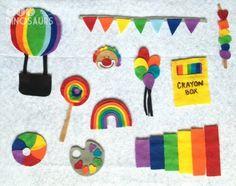 Teaching Toddlers: Rainbow Week (for Kiddos 15+ Months) diyanddinosaurs.com