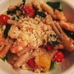 Simple Lemon Parmesan Pasta with Roasted Tomatoes & Kale | Chicago Foodies